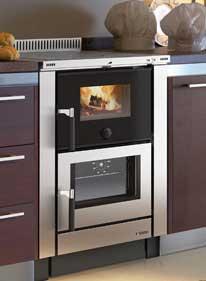 Cocinas y hornos de le a biotrafor for Cocinas de lena con horno