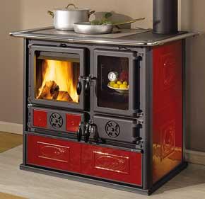 Cocinas y hornos de le a biotrafor - Cocinas con horno de lena ...